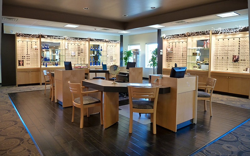 Weber Vision Care Lobby with Glasses and Fitting